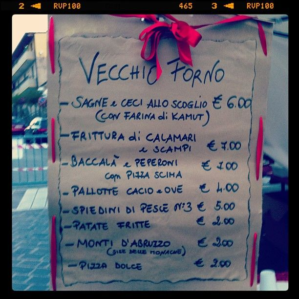 cibo di strada a Tollo www.weekendagogo.it #abruzzo