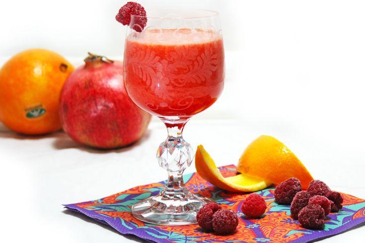 Morning Glory, en fantastiskt morgonjuice. Ett juice recept med citrus och bär, riktig antioxidantbomb! Ett juice recept med inflammationshämmande effekt.