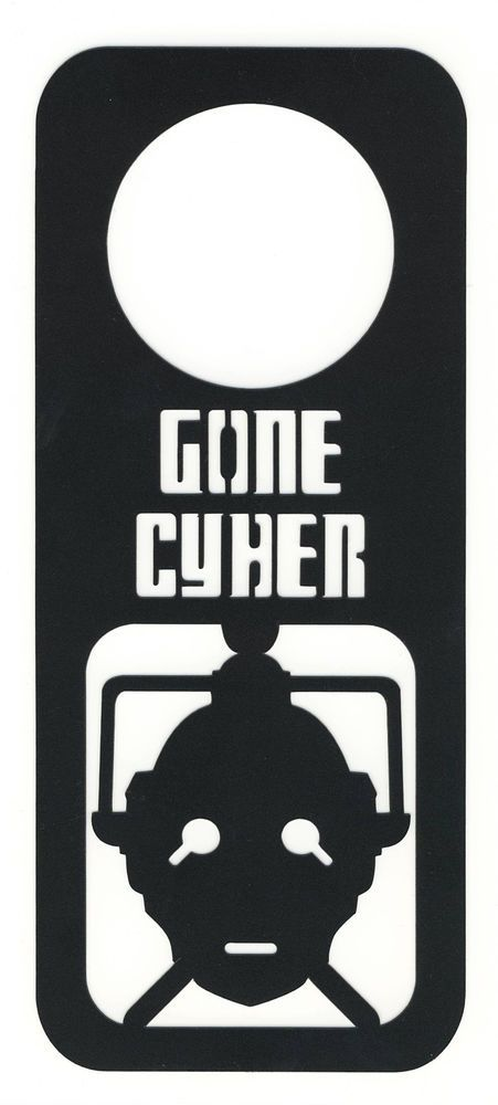 majestic dr who tardis door decal. Doctor Who CYBERMAN Door Hanger Thick 15Mil  Plastic Sign Dr Do Not Disturb 13 best Hangers images on Pinterest Tardis door