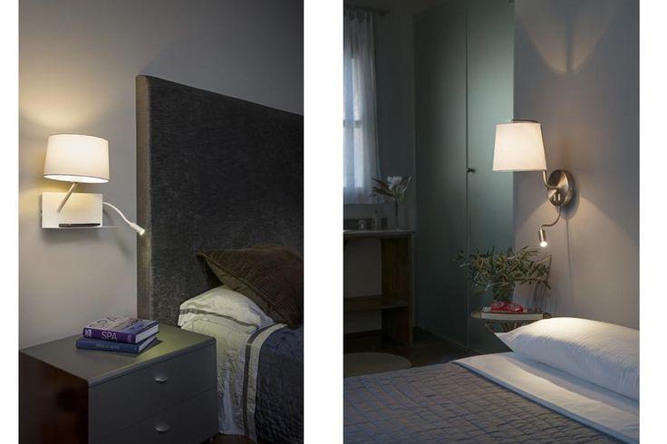 Los Apliques de pared son algo más que luz auxiliar. Elementos de decoración que permiten hacer juegos de luz en los ambientes interiores o exteriores.