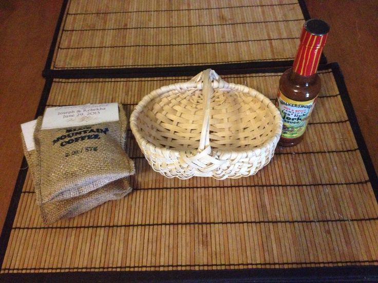Jamaica Wedding Gift Bags : ... Jamaican wedding favor basket for wedding by Helen G Events Jamaica