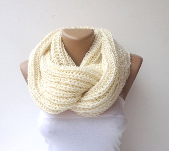 2014 scarf trends ,infinity scarves, women scarf , hand - crocheted scarf , men , loop scarf, circle scarf / fashion scarf / knit / knitting on Etsy, $35.00
