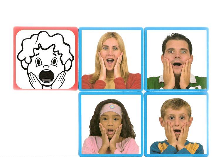 Thema emoties en gevoelens: Overrasket