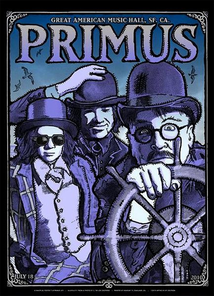 Primus - Great American Music Hall 2010