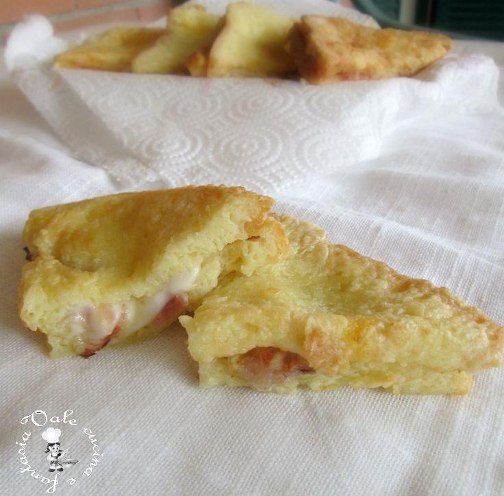 Pancarrè fritto dorato con mozzarella e speck