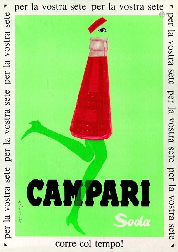 Conosciuto 53 best Fortunato Depero - Campari images on Pinterest | Posters  VQ08