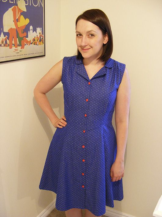 1000  images about Vintage Shirt Dress Sewing Pattern on Pinterest ...