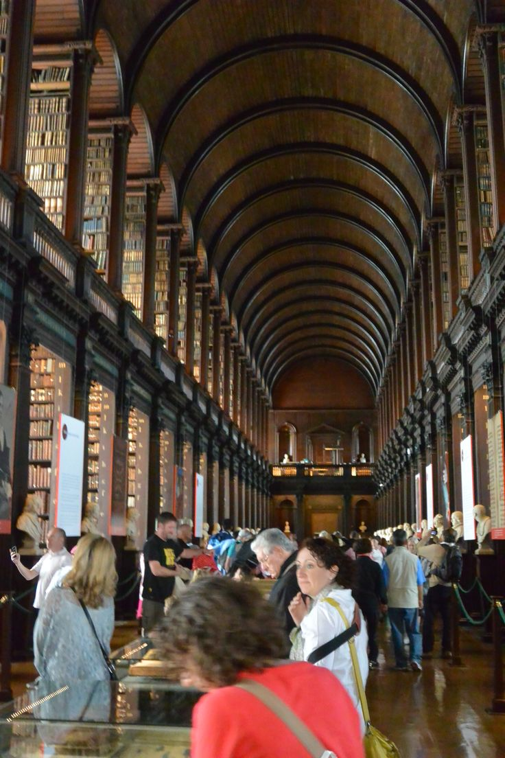 how to get to trinity college library