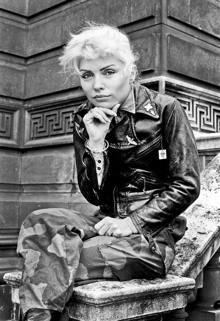 Debbie Harry photographed by Steve Emberton, London, 1977