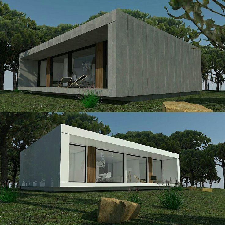 Modelos h-kub60b y h-kub72d. Fachadas ventiladas de Viroc y composite de aluminio. Distintas opciones y personalizaciones. www.h-kub.com #casamodular #casa #arquitectura #diseño #arquitecturamoderna #arquitecturamodular #modularhome #modularhouse #casaprefabricada 👍👍👍