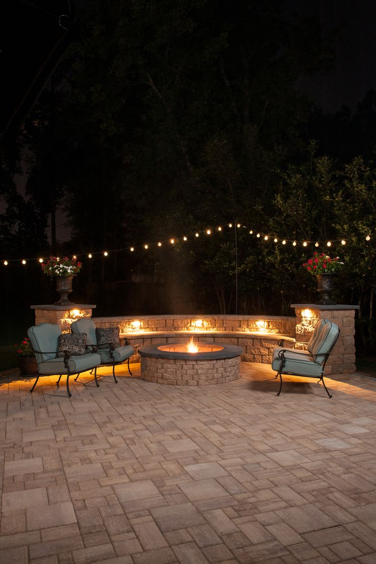 Eagle Bay Highland Stone Fire Pits Are Easy To Build And Adds A Cozy  Atmosphere To