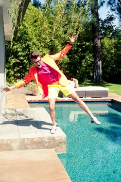 Brad Goreski....Juuust bein' HIMSELF! He's a REAL HUMAN BEING.....He's inspired me to be the SAME! :D