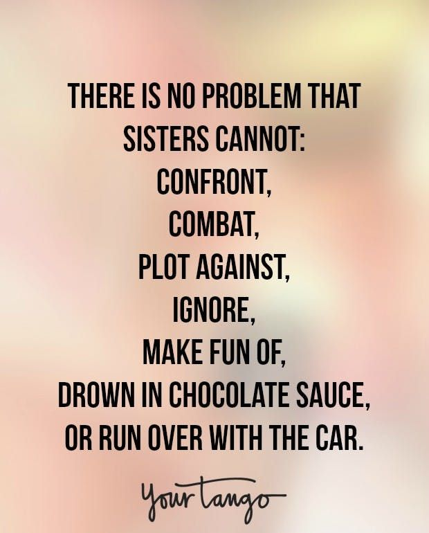 Quotes about older sisters