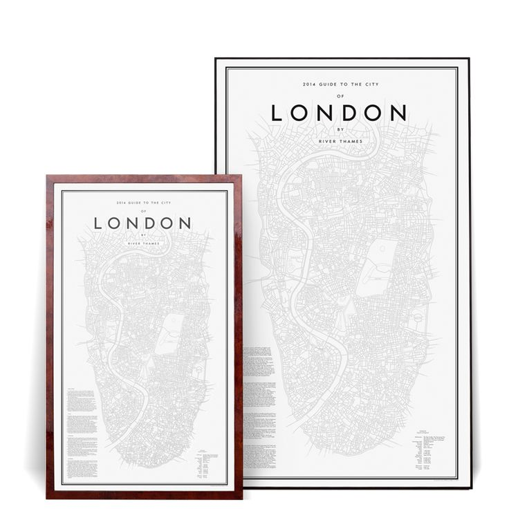My Guide to London Poster | Olsson  Gerthel