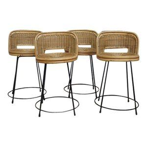 Seng Chicago Chair Ikea Toddler Table And Chairs Bar Stools Of Mid Century Rattan Set 4