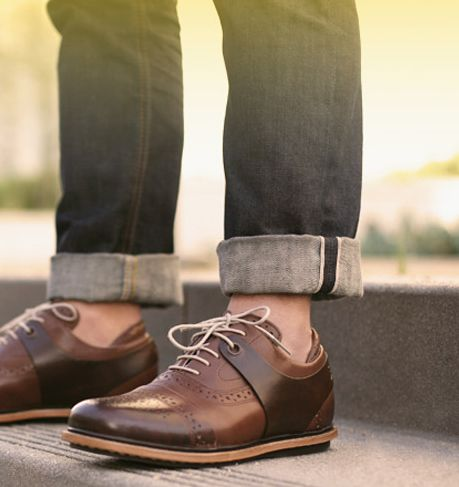 must. have. these.: Men Clothing, Brown Leather, Rolls Jeans, Oxfords Shoes, Men Fashion, Men Footwear, Men Shoes, Cool Shoes, Leather Shoes