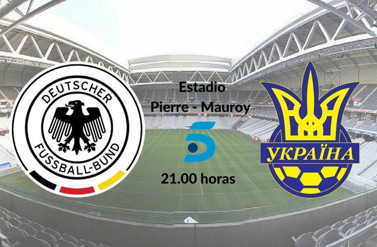Alemania vs Ucrania en vivo online: partido Grupo C Eurocopa Francia.