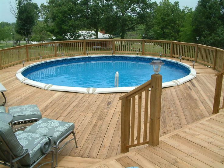 Swimming Pool Deck Ideas 22 amazing and unique above ground pool ideas with decks decks backyards and pool ideas Find This Pin And More On Intex Pool Deck