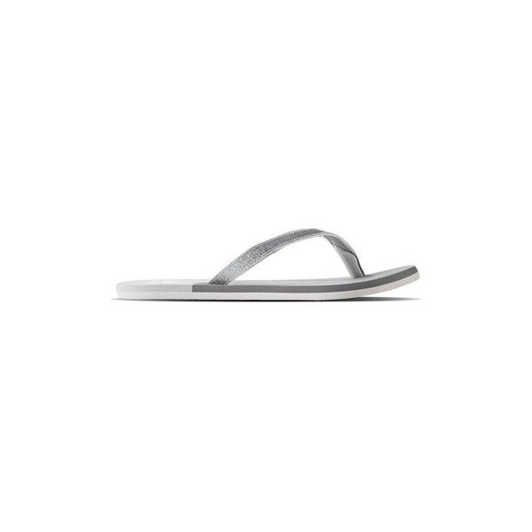 adidas Pantoffeln Eezy Glitter Thong Flip flops / Sandals (Shoes) ($79) ❤ liked on Polyvore featuring shoes, sandals, flip flops, multicolour, women, multi color sandals, multi colored flip flops, adidas footwear, glitter shoes and adidas sandals