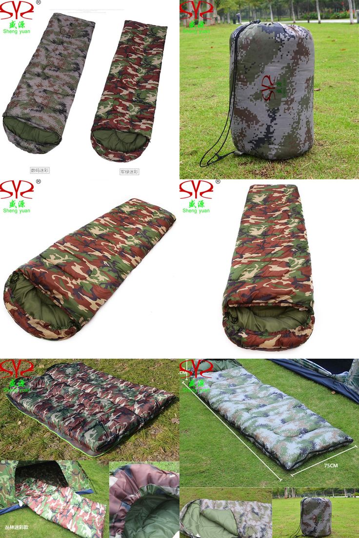 [Visit to Buy] Camouflage Sleeping Bag Outdoor Mountaineering Camping Sleeping Bags Thick Warm Autumn Winter Hiking Camping Adult Sleeping Bag #Advertisement