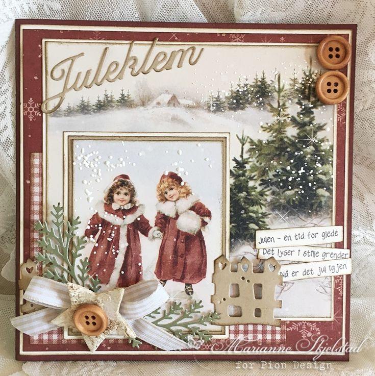 Juleklem, Christmas card, The Night Before Christmas