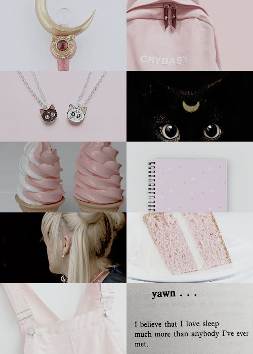 sailor moon aesthetics ⋆ moon prism power! …and make it fast!
