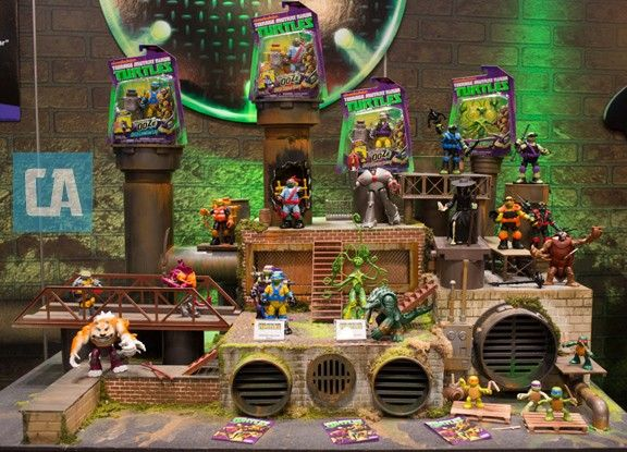 Toy Fair 2013: Playmates' Upcoming 'Teenage Mutant Ninja Turtles' Figures And Vehicles - ComicsAlliance | Comic book culture, news, humor, commentary, and reviews