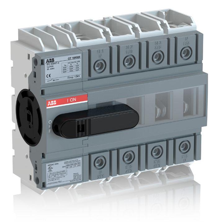 Выключатель-разъединитель OT160G следующего поколения.  ГК «Электро-Профи» представляет выключатель-разъединитель OT160G следующего поколения - надежный и компактный аппарат, подходящий для всех возможных вариантов применения, который снижает затраты и требуемое пространство внутри шкафа. ►Читать дальше: http://ep.ru/news/index.php?id=765   ГК «ЭЛЕКТРО-ПРОФИ»  Тел.: +7 (495) 921-03-58  Е-mail: msk@ep.ru  http://ep.ru