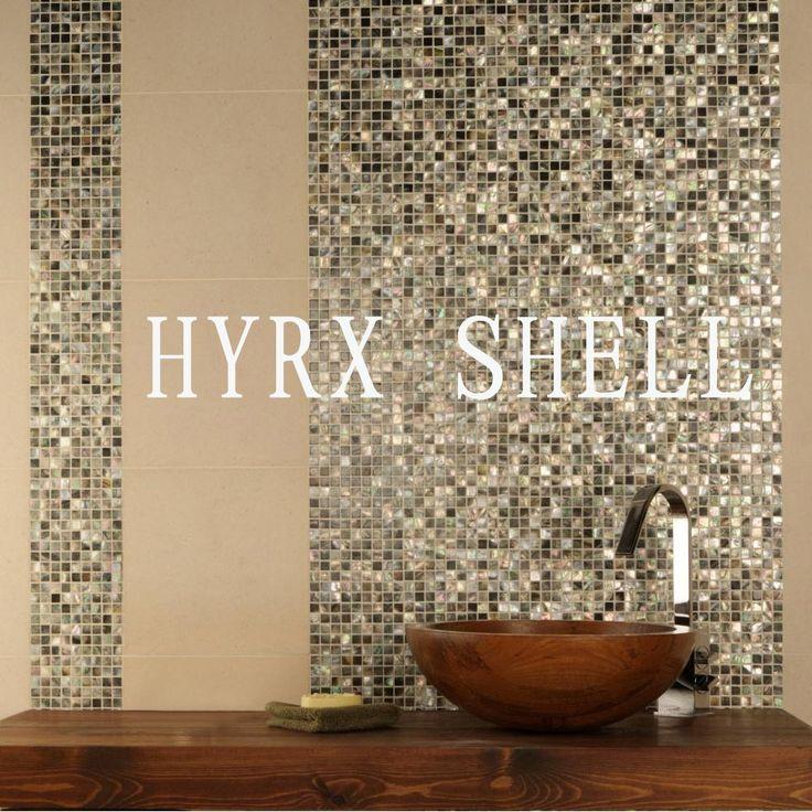 Hyrx керамической мозаики оптово бассейн пол в ванной комнате плитки сплошной цвет домохозяйство матовый купить на AliExpress