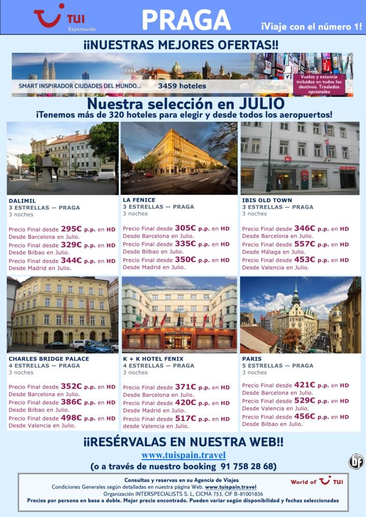 ¡Nuestras mejores ofertas! Vuelo + Hotel en Praga salidas en Julio. Precio final desde 295€ - http://zocotours.com/nuestras-mejores-ofertas-vuelo-hotel-en-praga-salidas-en-julio-precio-final-desde-295e/