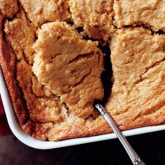 Sweet Potato Spoon Bread | Spoon bread, a cross between corn bread and ...