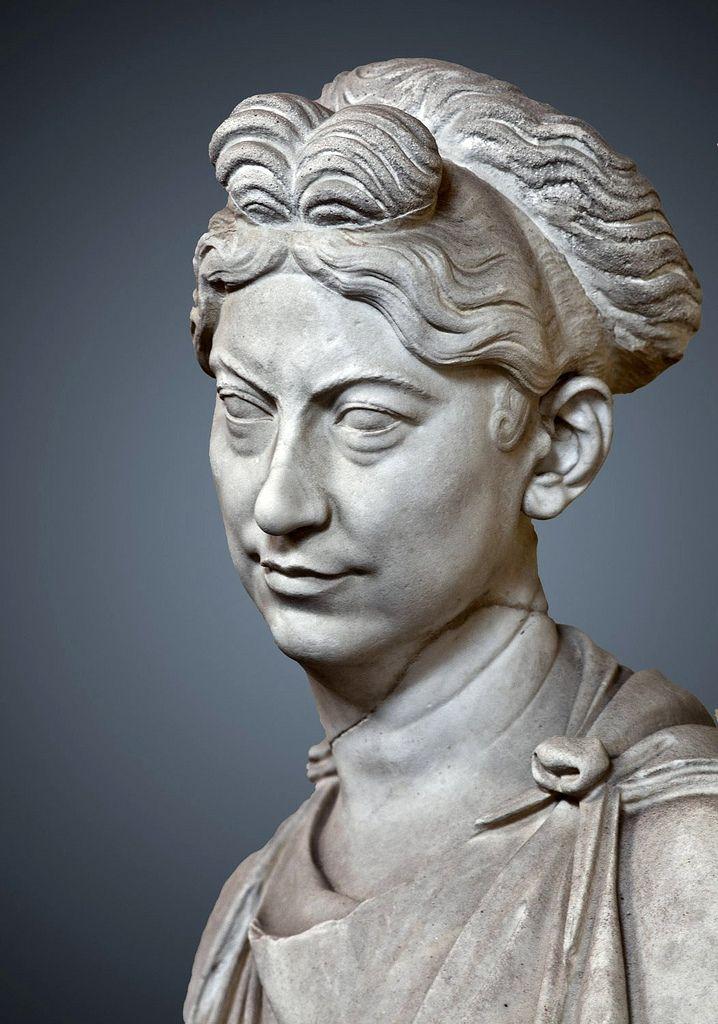 (c. 120-140 CE) Bust of a Roman Lady