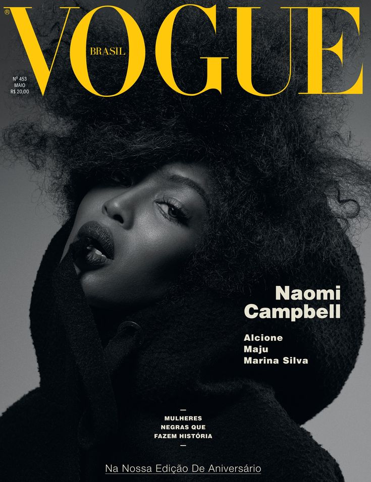 26 Photos from Naomi Campbell's Epic Vogue Brazil Spread That Will Give You Fro-Envy