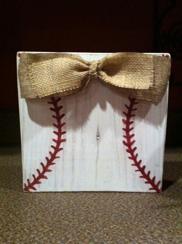 Baseball picture frame $20