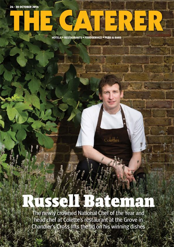 Russell Bateman... The newly crowned National Chef of the Year and head chef at Collette's restaurant at the Grove in Chandler's Cross lifts the lid on his winning dishes.  Subscribe to The Caterer here https://www.thecaterer.com/subscribe