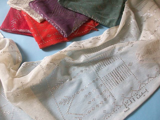 Handmade scarf from Assyut