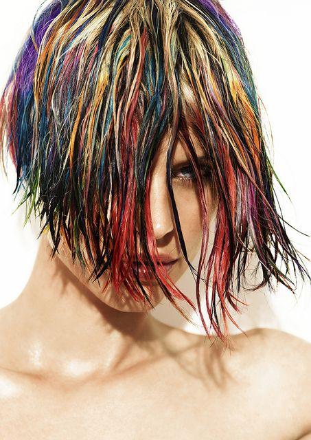 WOWZA!!! Joey Scandizzo & Rokk Ebony - 2011 Australian Hairdresser of the year Finalists