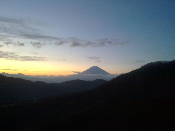 Mt Fuji from Hakone Ropeway