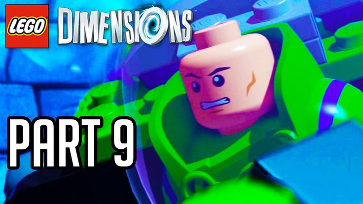 LEGO Dimensions Walkthrough Part 9 - LEX LUTHOR BOSS!! (Gameplay PS4/XB1...