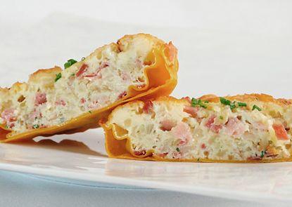 Torta salata (o quiche) di Speck e cipolla