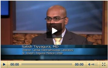 Satish Tiyyagura, MD, FACC, Director, Electrophysiology Laboratory, St. Joseph's Regional Medical Center, is among the first in New Jersey to implant the newly FDA-approved mini implantable cardioverter defibrillator (ICD), an automated treatment of life-threatening ventricular arrhythmias. To learn more about the procedure and ICD, view the video on our website below!