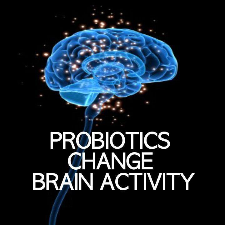 Probiotics Change Brain Activity, Emotional Response