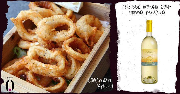 Abbinamento Zibibbo Lighe Donnafugata e calamari fritti, wine pairing