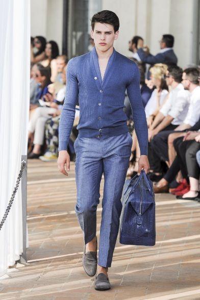 Sfilata Corneliani Milano Moda Uomo Primavera Estate 2014 - Vogue