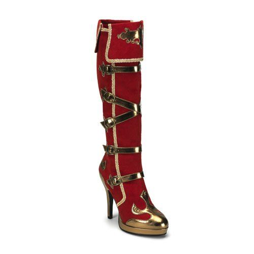 Complete your favorite Halloween costume with the perfect shoes! Funtasma shoes are available year round for all your costuming needs. Whether you are looking for a costume piece or maybe something extra funky for a night out choose Funtasma for your most outrageous footwear needs.Color: Red MicrofiberWomen s4.5 Inch Heel http://www.amazon.com/dp/B00567D6TY/?tag=icypnt-20