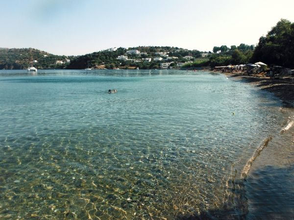 Vromolithos beach, crystal water