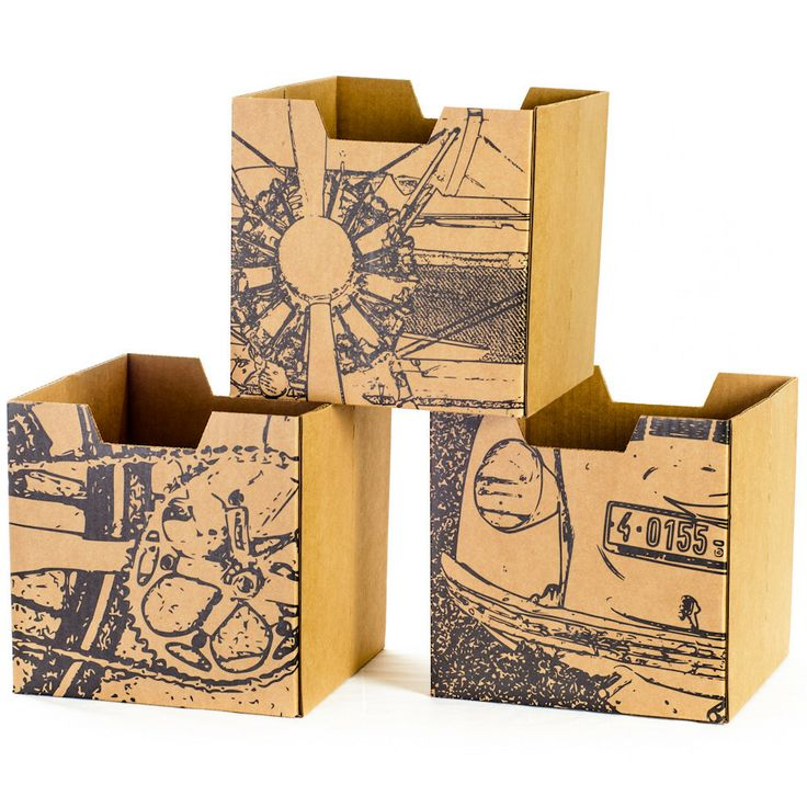 Cardboard Storage Box Decorative 15 Best Storage Containers Images On Pinterest  Storage Bins