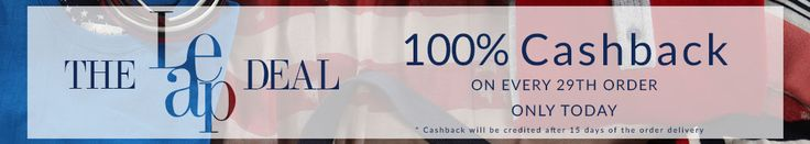 Americanswan Leap Year Sale Offer : Americanswan 100% Cashback on Every 29th Order