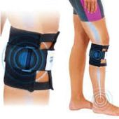 Sports Therapy Black Knee Brace  http://zenithpath.com/therapy-knee-brace  #therapykneebrace #magnetickneebrace #kneebrace #pressurepointkneebrace #sportskneebrace