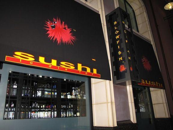 Blowfish Sushi, Santana Row... In my top 3 most fav Sushi Spots... of course on Santana Row